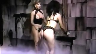 Whorey Dark-haired Hussy Receives A Decent Spanking From Her Sexy