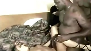 Step Mom Daughter-in-law Interracial Homemade Orgy