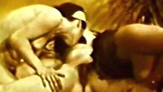 Erotic Nudes 636 1960's - Scene trio