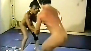 Fit Cougars Nude Grappling