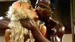 Jean Afrique and Ray Victory - Antique Interracial