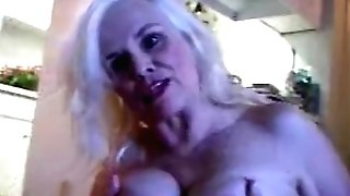 Wild Granny Adult Movie Star Zoe Zane Smokes N Pantyhose