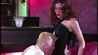 Spanish Silvia Luvs Two Hard-ons In Her Puss