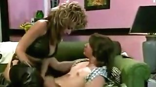 Old School Cougar In Boots Banging