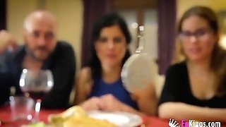 Montse Swapper - Christmas Family Dinner Witha A Twist