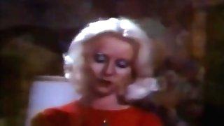 Retro Blonde Pornographic Star Makes Sweet Love In Trio Way