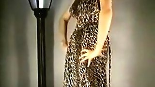 Leopardskin Striptease - Antique Nylons Big Bumpers Stockings