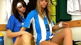 Lesbo Joy In The Dressing Room