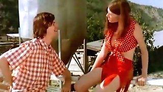 Ginger-haired Chick Having Joy Outside (1970s Antique)